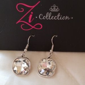 Zi Collection Jewelry - 5 for $25 Silver Statement Neclace/Earring Set
